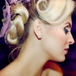 Lilac and Blonde.