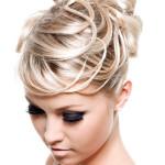 Beautiful creative hairstyle