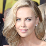 Charlize in Blonde.