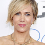 Kristen Wiig with a short Style.