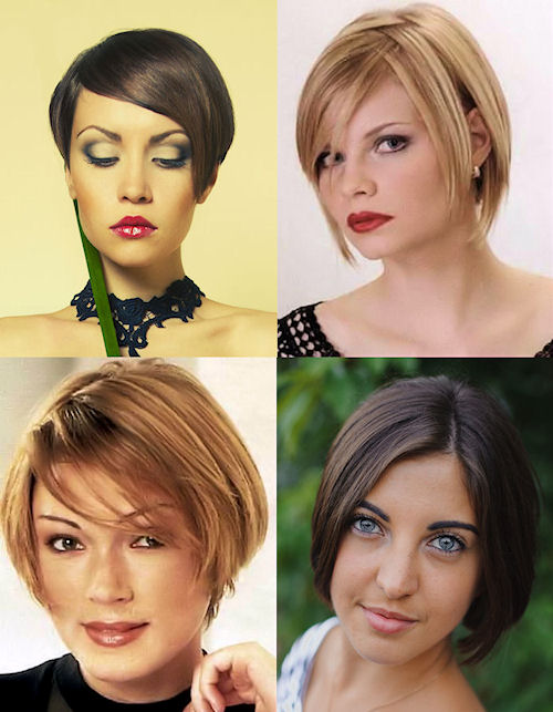 Short Inverted Bob Hairstyles.
