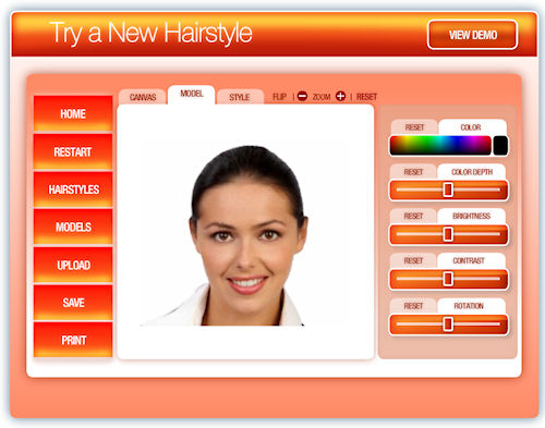 try on hairstyles for free by uploading photo