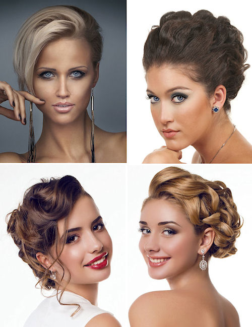 Short Updo's for Prom or Homecoming.