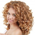 Healthy Curly Hair.