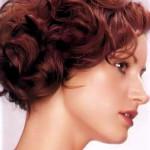 Short Chestnut Curls
