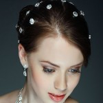 Pretty and Simple Updo with Accessories