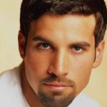 Overall neat look with a goatee.