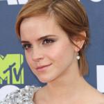 Emma Watson Glammed Up Short.