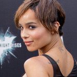 Zoe Kravitz Wearing a Pixie Cut